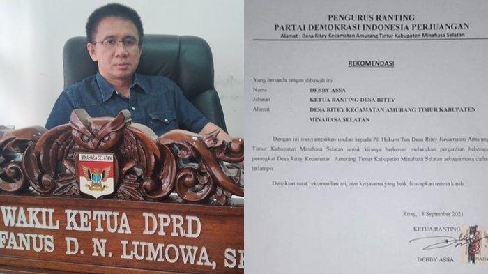 Ketua DPC PDIP Minsel Marah, Segera Panggil Oknum Ketua Ranting PDIP Ritey