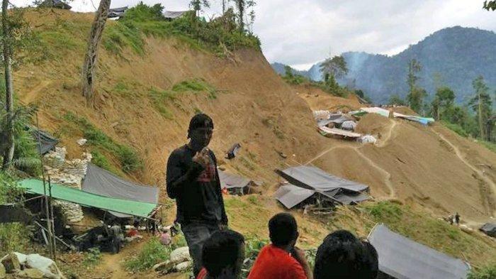 Penambang yang Tertimbun di Tambang Potolo Bolmong Dilarikan ke RSUP Manado