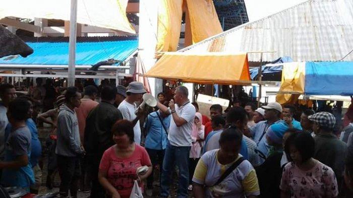 Pemkot Tertibkan Lalu Lintas Pasar Pinasungkulan