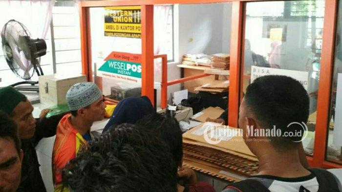 Mendekati Batas Akhir, Pendaftaran CPNS Membludak di Kantor POS Molibagu