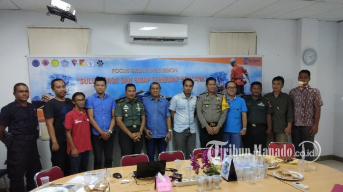 BPBD Sulut Salurkan Bantuan untuk 630 Pengungsi Palu di Manado