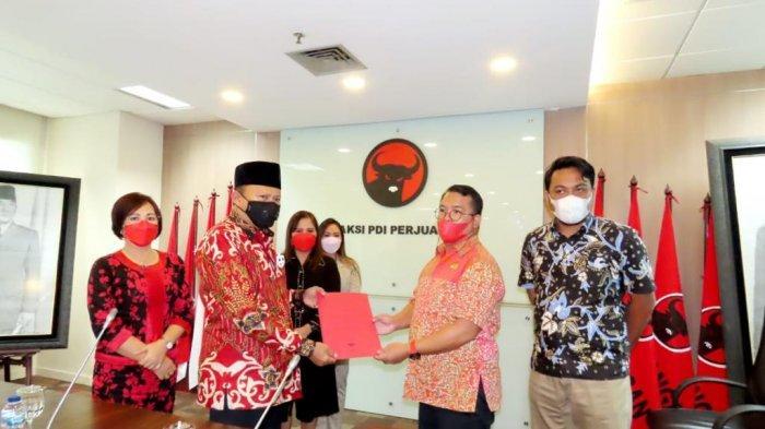 Fraksi PDI Perjuangan DPRD Bitung, Lobi Bantuan ke Herson Mayulu Anggota Komisi V DPR RI