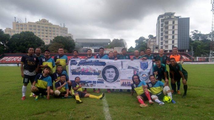 Kenang Sosok Vendi Lera, Sulut United, Persma All Star & Wartawan Gelar Pertandingan Persahabatan