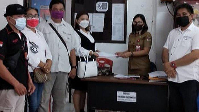 FSBSI Minahasa Selatan Serahkan Salinan SK Pengurus ke Disnaker dan Kesbangpol