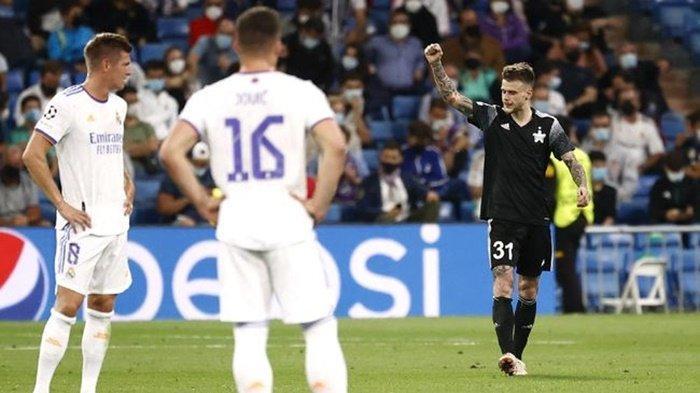 Full Time: Real Madrid vs FC Sheriff 1-2, Los Blancos Dipermalukan di Santiago Bernabeu