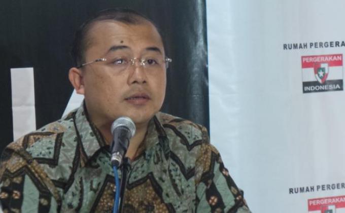 Fungsionaris Perhimpunan Pergerakan Indonesia Muhammad Rahmad.