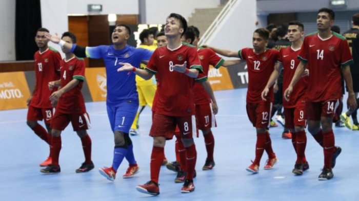 SEA Games 2017 - Babak Pertama, Timnas Futsal Indonesia Tertinggal dari Malaysia