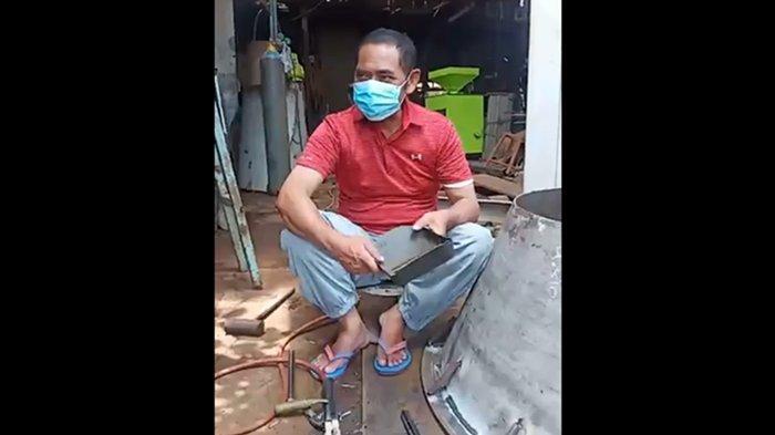 FX Hadi Rudyatmo kembali jadi <a href='https://manado.tribunnews.com/tag/tukang-las' title='tukanglas'>tukanglas</a> usai tak lagi jabat Walikota Solo.