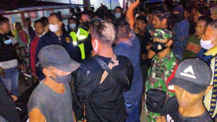 TNI dan Polisi Lerai Kericuhan di Ratatotok Minahasa Tenggara