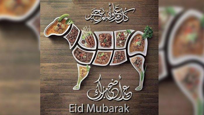 Gambar dan Ucapan Selamat Idul Adha 2021, Bagikan ke Media Sosial Hari Ini dan Besok