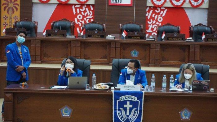 GAMKI Sulut Sukses Gelar Rapat Pleno I, Yowanda Yonggara InginTingkatkan Partisipasi Pemuda Kristen