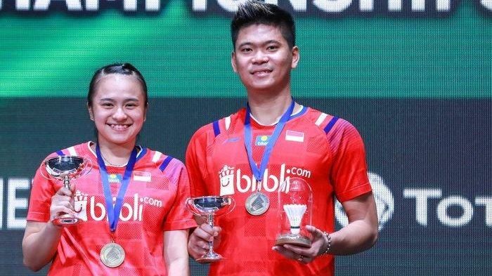 Hasil Semifinal Thailand Open 2021: Dendam Terbalas, Praveen/Melati Melaju ke Final