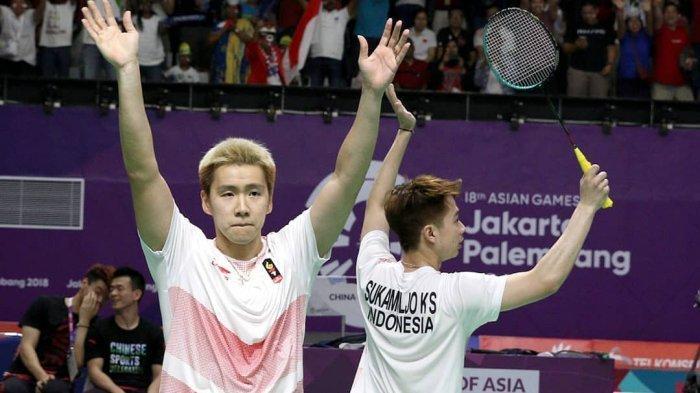 Hasil Semifinal Indonesia Open 2019, Suguhan All Indonesian Final Marcus/Kevin vs Ahsan/Hendra