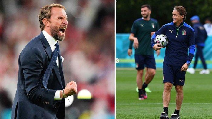 Jelang Final Euro 2020 Italia VS Inggris, Berikut Kondisi Pemain,Tanggapan Pelatih dan Prediksi Skor