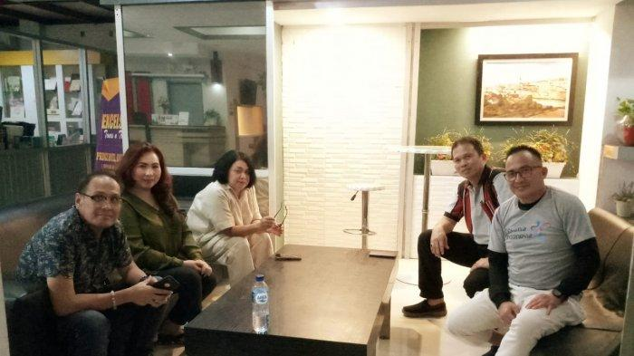 Staf Khusus GubernurFasilitasi Pertemuan Asita dan Garuda Indonesia, Buka Rute Manado-Davao-Manila
