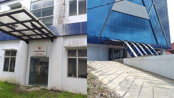 Begini Kondisi Gedung RSUD dan Kantor PMI Kota Manado, Dua Bulan Setelah Diresmikan