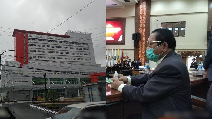 Winsulangi Salindeho Singgung Bangunan Bobrok Samping RSUD ODSK, Bekas Kasus Korupsi RS Ratumbuysang