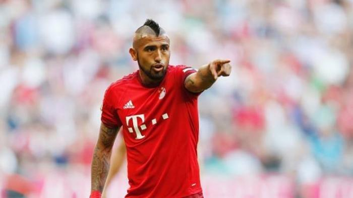 Gelandang Bayern Muenchen, Arturo Vidal