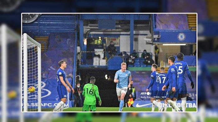 LINK LIVE Streaming Final Liga Champions Manchester City vs Chelsea, de Bruyne Dipastikan Tampil
