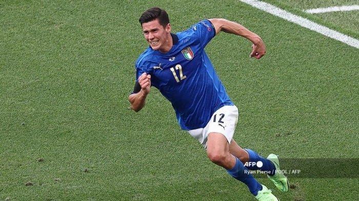 Hasil Italia vs Wales EURO 2020, Gli Azzuri Juara Grup A, The Dragons Lolos ke 16 Besar Meski Kalah