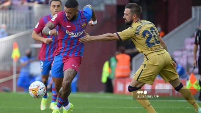 Hasil Barcelona vs Levante: Catatan Manis Duo Belanda, Depay dan De Jong Jadi Momok Menakutkan