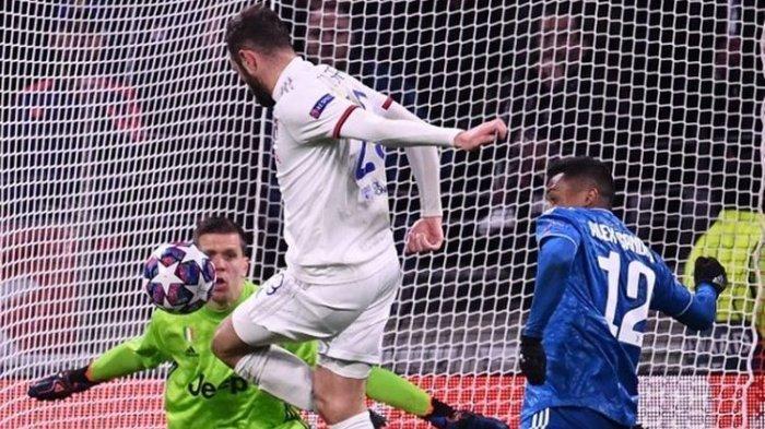 CARA Lyon Buka Gol Keunggulan Atas Juventus, Pertandingan 16 Besar Liga Champions Tadi Dini Hari
