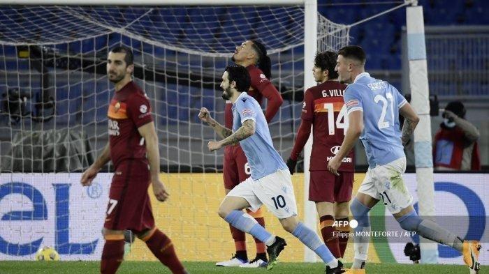 Hasil Liga Italia Lazio vs AS Roma, Aquilotti Menang 3 Gol Tanpa Balas, Jaga Peluang ke Papan Atas