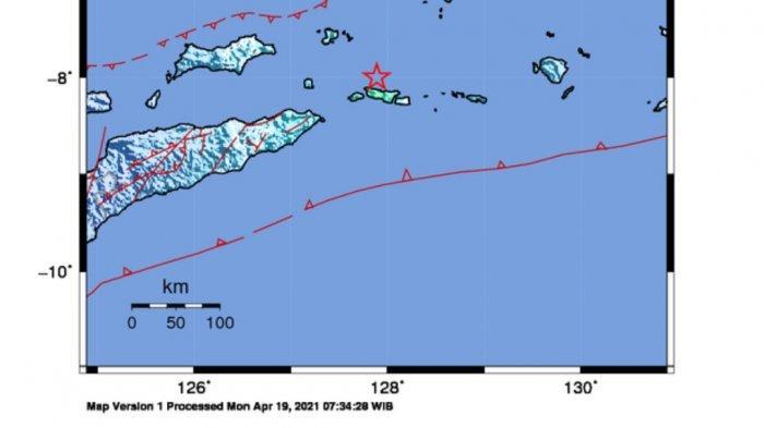 Gempa di Laut Tadi Siang, Ini Lokasi dan Kekuatannya, Berikut Data BMKG
