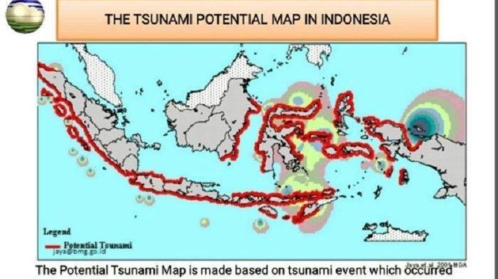 Miliki Banyak Patahan Gempa, Indonesia Rawan Tsunami, Berikut Wilayah yang Masuk Zona Subduksi