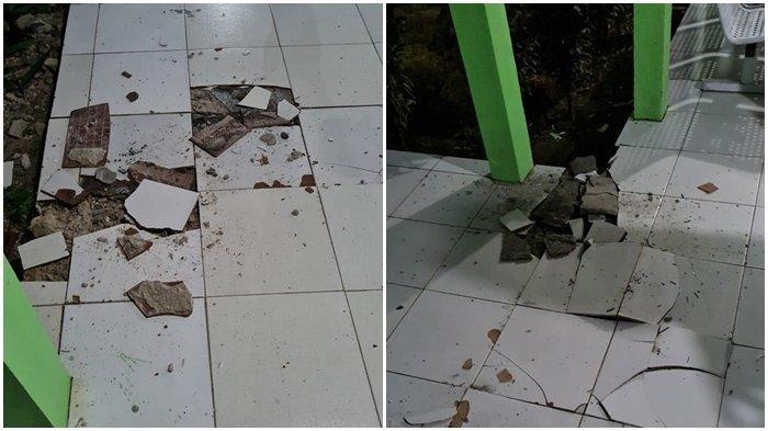 Gempa bumi berkekuatan 7.1 SR dengan kedalaman 154 km terjadi di 134 km Timur Laut Melonguane, Kepulauan Talaud, Sulawesi Utara.
