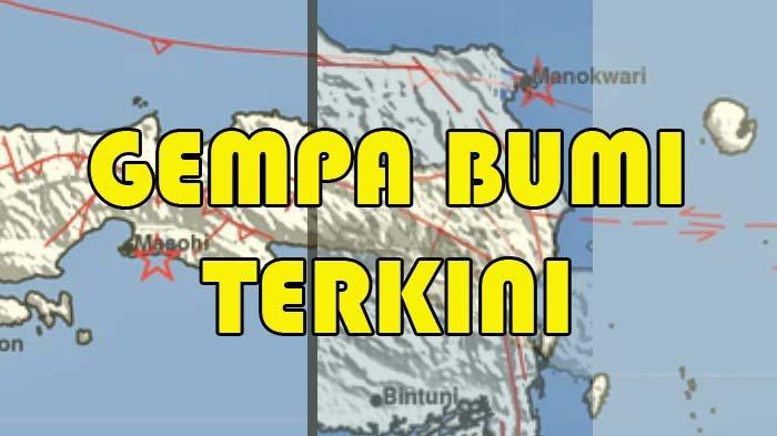 Gempa Tadi Malam Mengguncang Maluku dan Papua Barat, Info BMKG Ini Titik Pusatnya
