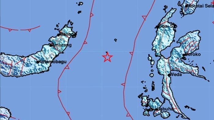 Gempa Magnitudo 5.8 di Boltim, Listrik Padam, Warga Boltim Berlarian Keluar Rumah
