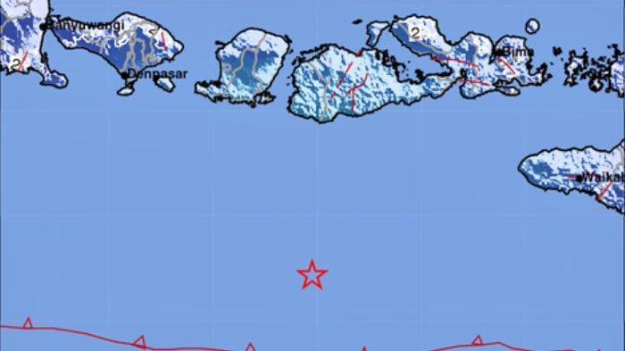 Gempa di Laut Tadi Jam 10, Ini Lokasi dan Kekuatannya