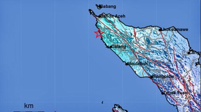 Gempa bumi hari ini Sabtu 17 April 2021