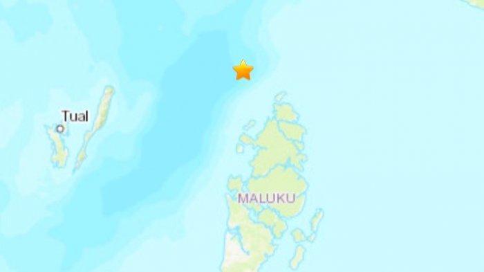 Gempa bumi hari terkini Selasa 15 Juni 2021 sore menjelang malam di wilayah Maluku.