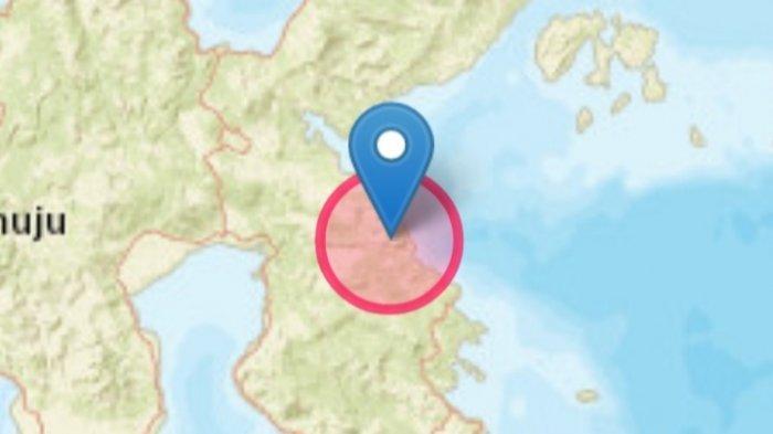 Gempa bumi Jumat 16 Juli 2021 sore dirasakan di Morowali, Sulawesi Tengah.