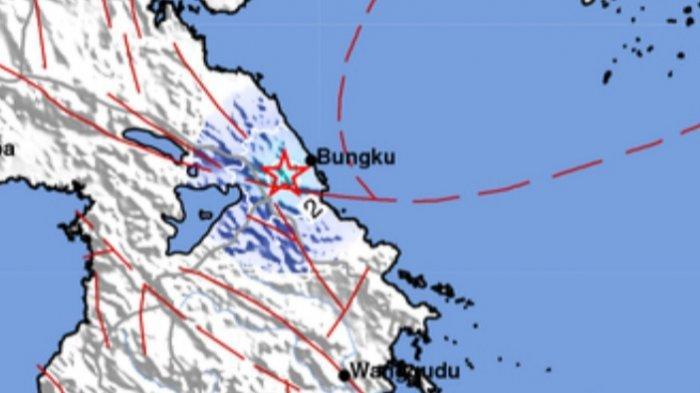 Gempa Bumi Terkini Jumat (16/07/21) Sore, Berikut Info BMKG Lokasi dan Data Magnitudo