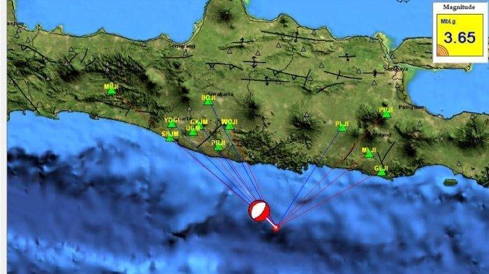 Gempa Terkini Jumat (30/7/2021) Dini Hari, Jawa Timur Diguncang, Ini Info Lokasi dan Magnitudonya