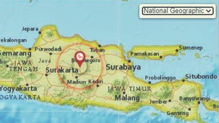 Gempa Bumi Guncang Daratan Jatim Rabu Pagi, BMKG Rilis Analisis Magnitudo