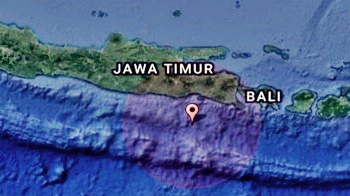 Gempa Bumi Kembali Guncang Jawa Timur Senin (07/06), Ini Lokasi Pusat Gempa dan Data Magnitudo BMKG