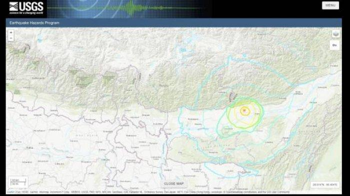Gempa Bumi Tadi Pagi Rabu (28/4/2021) Warga Berlarian ke Jalan, Ini Titik Lokasi dan Kekuatannya
