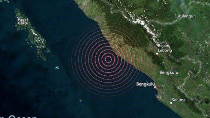 Gempa Bumi Magnitudo 5.0 SR, Info BMKG Lokasi Pusat Gempa