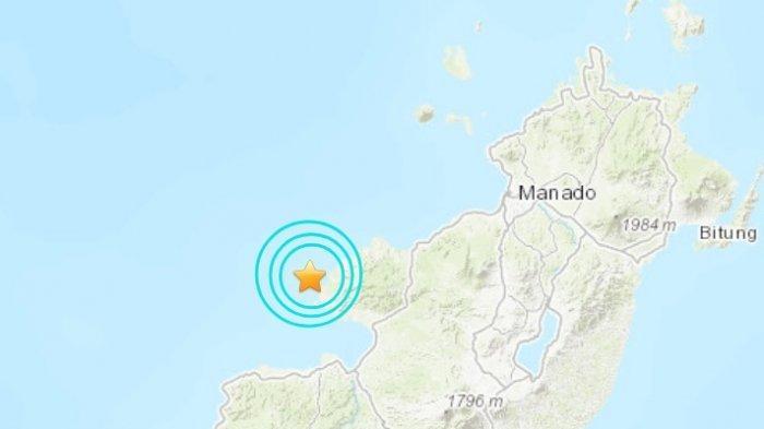 Gempa Bumi Magnitudo 5.2 SR, Berikut Titik Lokasi Pusat Gempa