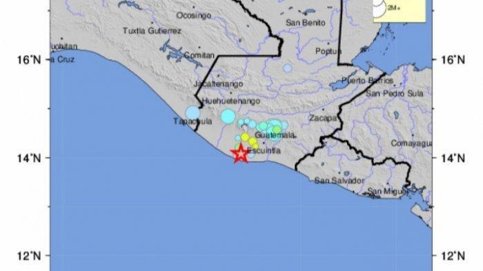 Gempa Magnitudo 5.4 SR, Guncangan Skala VI, Ini Lokasi Pusat Gempa