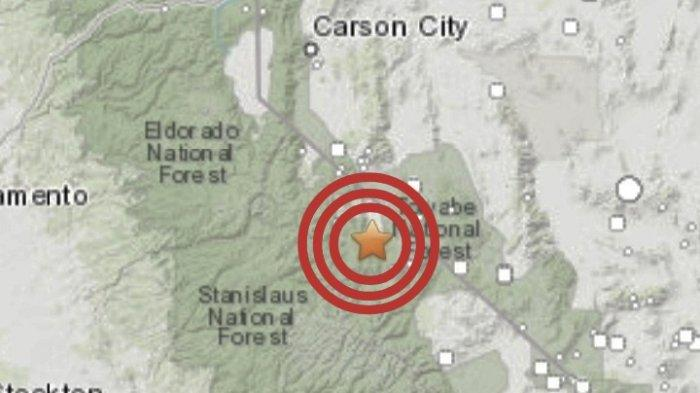 Gempa Bumi Magnitudo 6 0 Jumat 9 Juli 2021 Guncangan Dirasakan Sangat Kuat Ini Lokasinya Tribun Manado