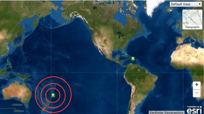 Gempa Bumi Magnitudo 6.3 SR, Pesan Informasi Terkait Tsunami Dirilis, Ini Lokasinya