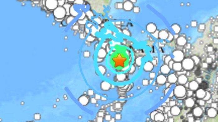 Gempa Bumi Magnitudo 6.7 Kamis 22 Juli 2021 di Panama.
