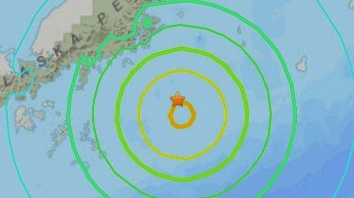 Gempa Magnitudo 8.2 Kamis 29 Juli 2021, Info Peringatan Tsunami Dirilis, Ini Lokasinya