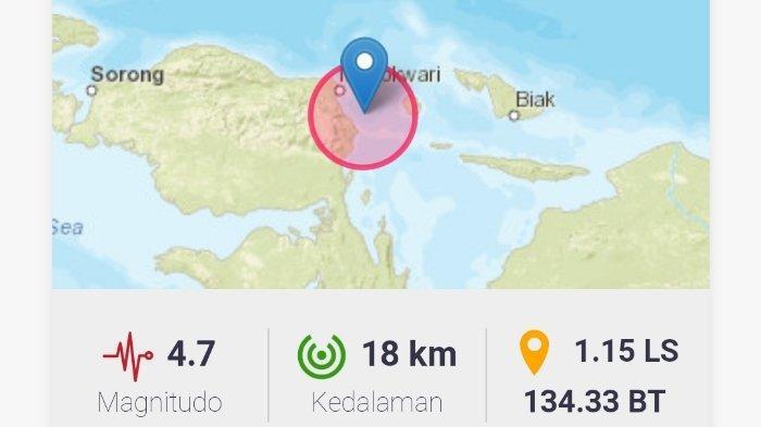 Info Gempa Terkini Rabu (14/7/2021) Malam, Berikut Ini Info BMKG Lokasi dan Magnitudonya