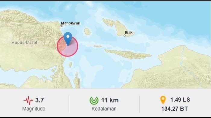 Gempa Bumi Terkini Selasa (06/07/21) Tadi Pagi, Berikut Info Terkini BMKG Magnitudo dan Lokasinya